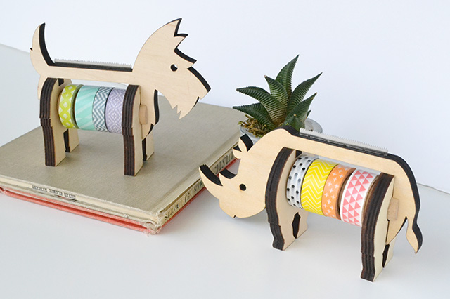 We R Animal Washi Tape Dispensers by Aly Dosdall
