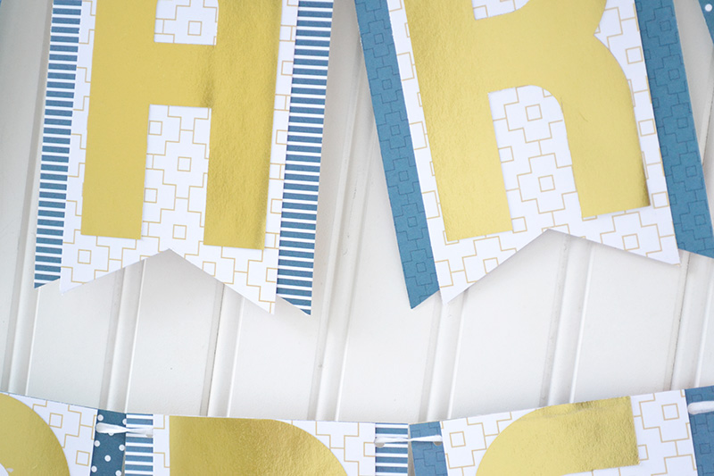 layered banner ends