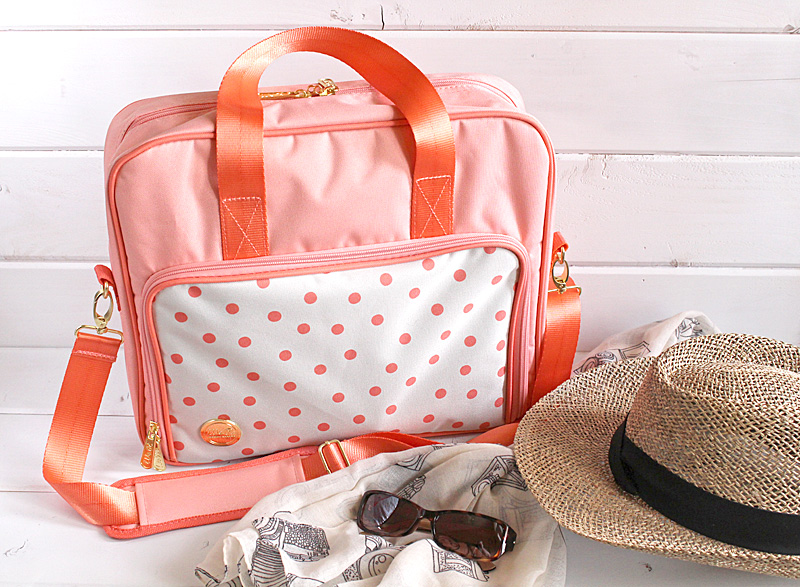 shoulder travel bag Kimberly Crawford for We R Memory Keepers