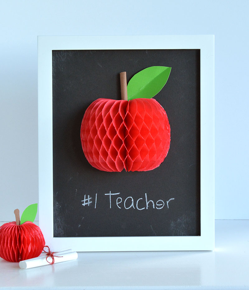 Teacher Appreciation Framed Gift by Amanda Coleman for We R Memory Keepers