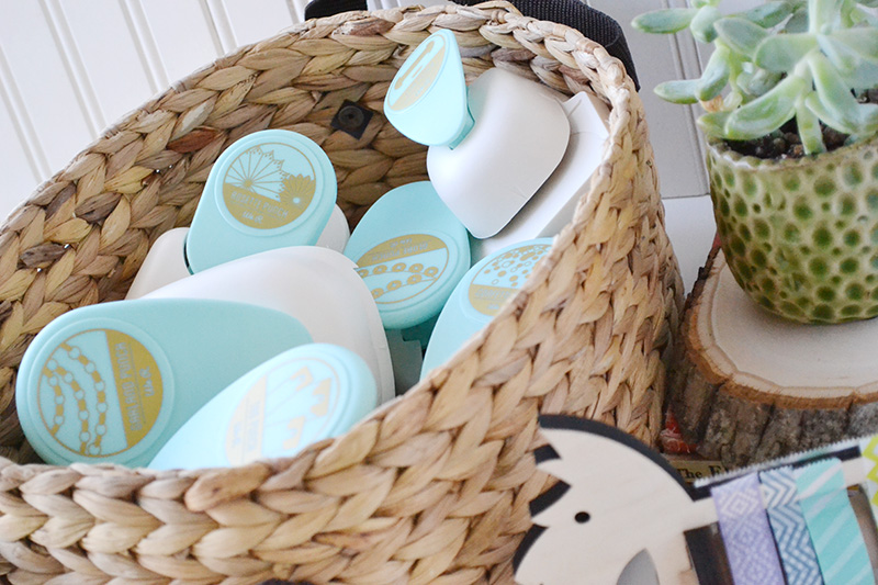 We R Memory Keepers DIY Party Punch Storage by Aly Dosdall_close