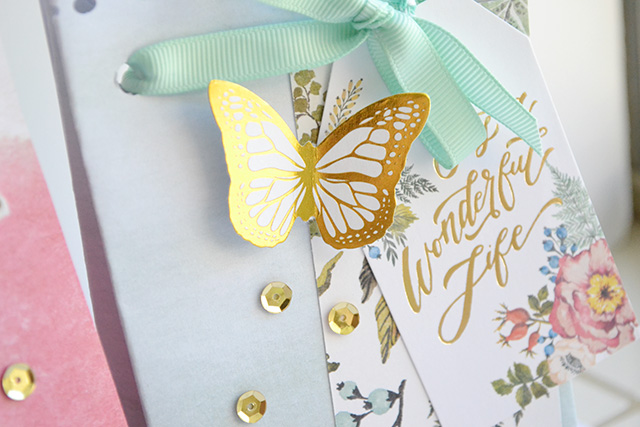 Wildflower Gift Bag Punch Board Bags by Aly Dosdall_detail 2