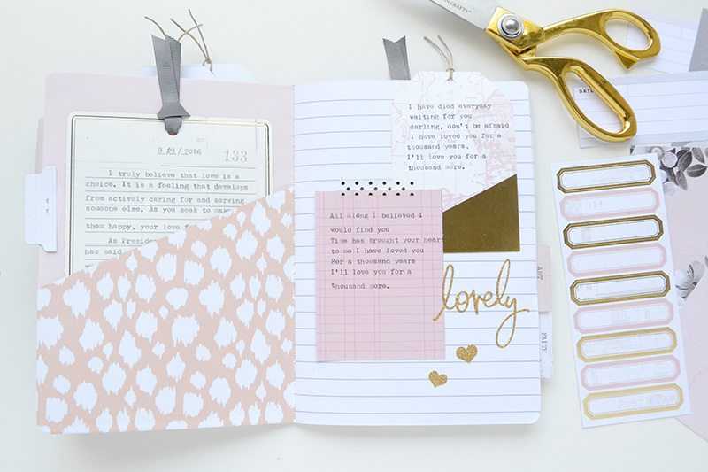 Typecast Quote Journal by Aly Dosdall 10