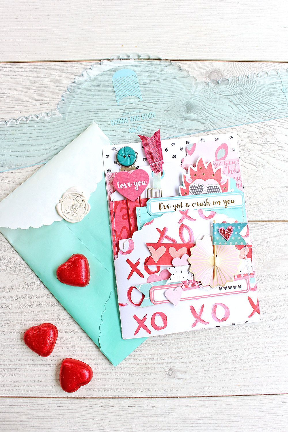 Interactive Valentine's Day Card by Chantalle McDaniel for We R Memory Keepers