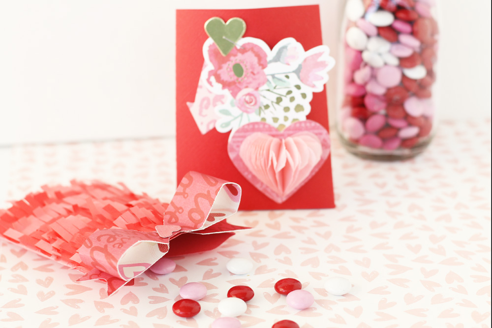 Valentines Day Party Favors by Laura Silva for We R Memory Keepers