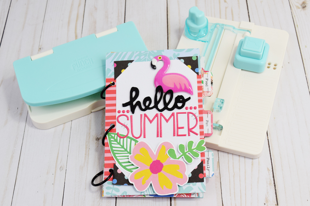 Summer Bucket List Mini Album by Becki Adams for We R Memory Keepers