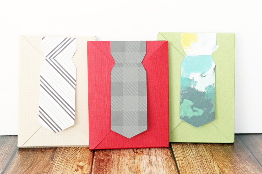 Necktie Gift Box by Laura Silva for We R Memory Keepers