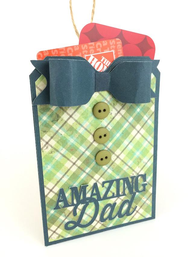 Father's Day Gift Card Tag