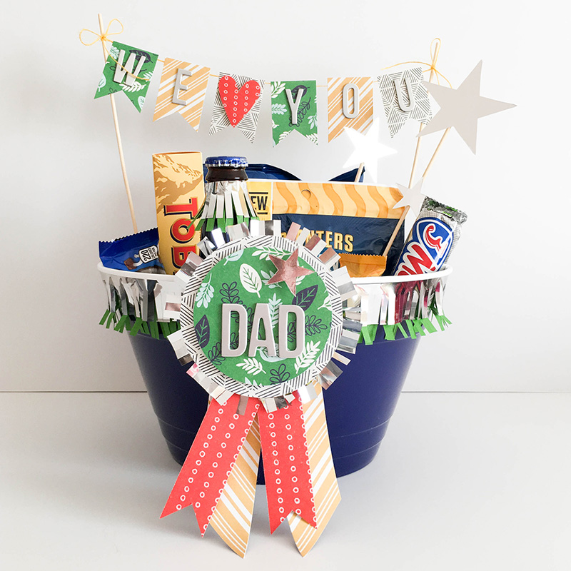 Father's Day Treat Tub