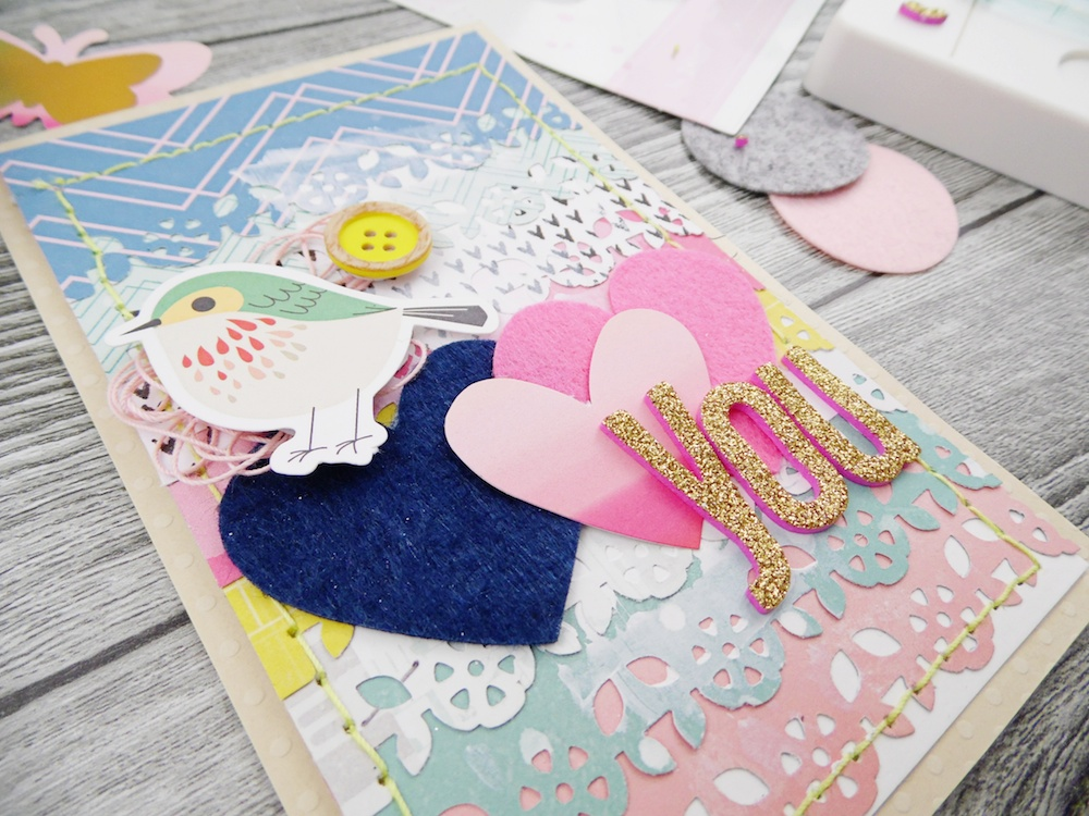 Handmade cards with the Supreme Ruler by Soraya Maes for We R Memory Keepers