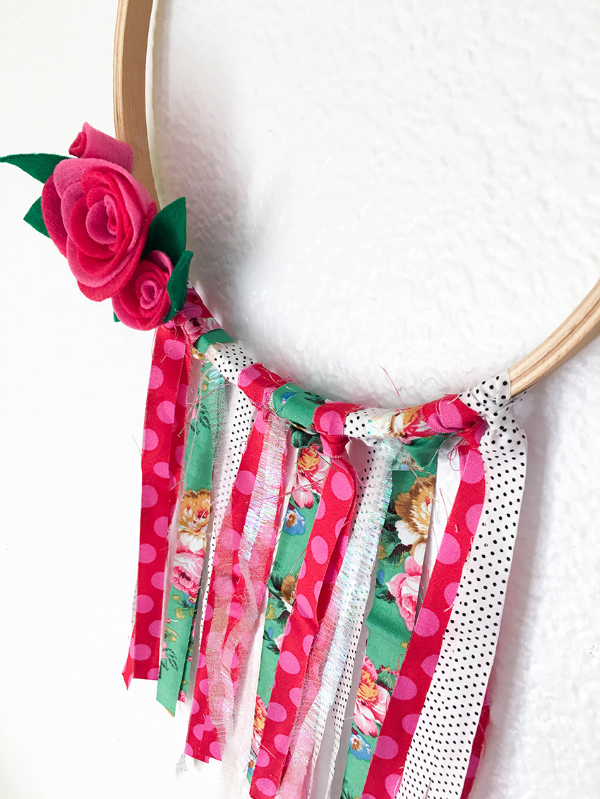 Fabric Hoop with the Supreme Ruler by Tessa Buys for We R Memory Keepers