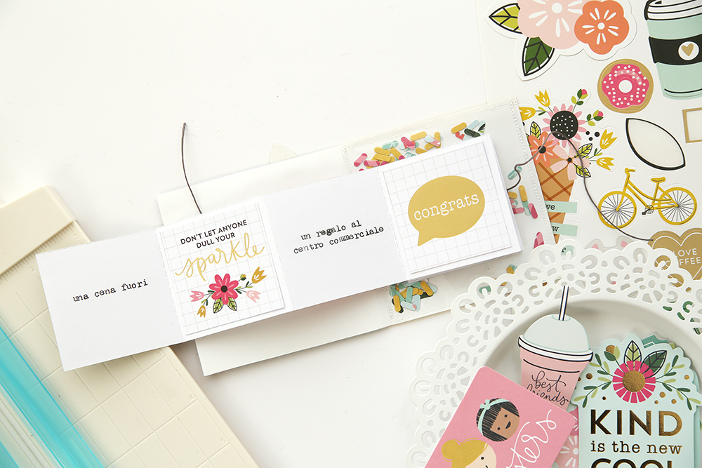 Dial Trimmer Coupon Card by Eva Pizarro for We R Memory Keepers