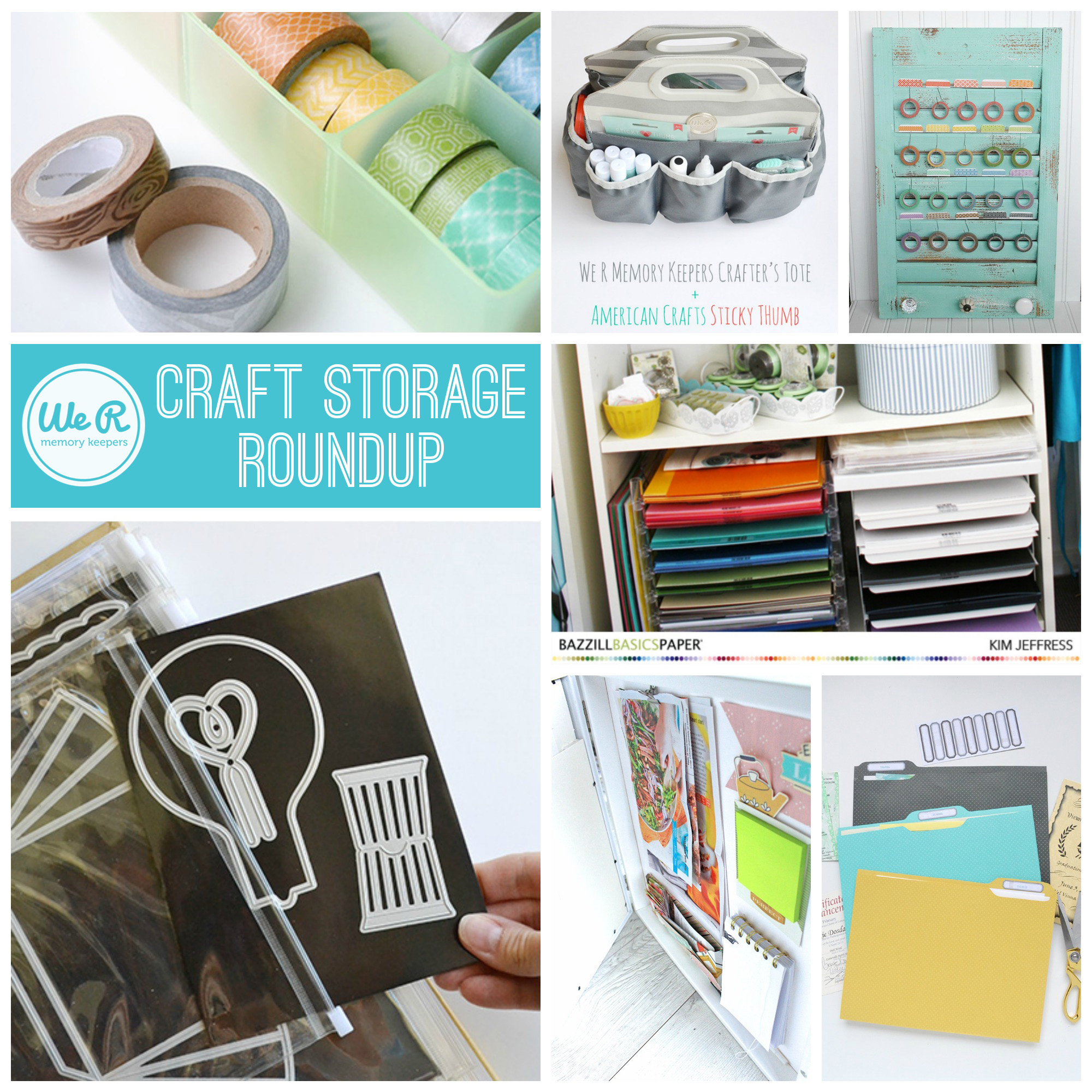 We R Memory Keepers Craft Storage Roundup