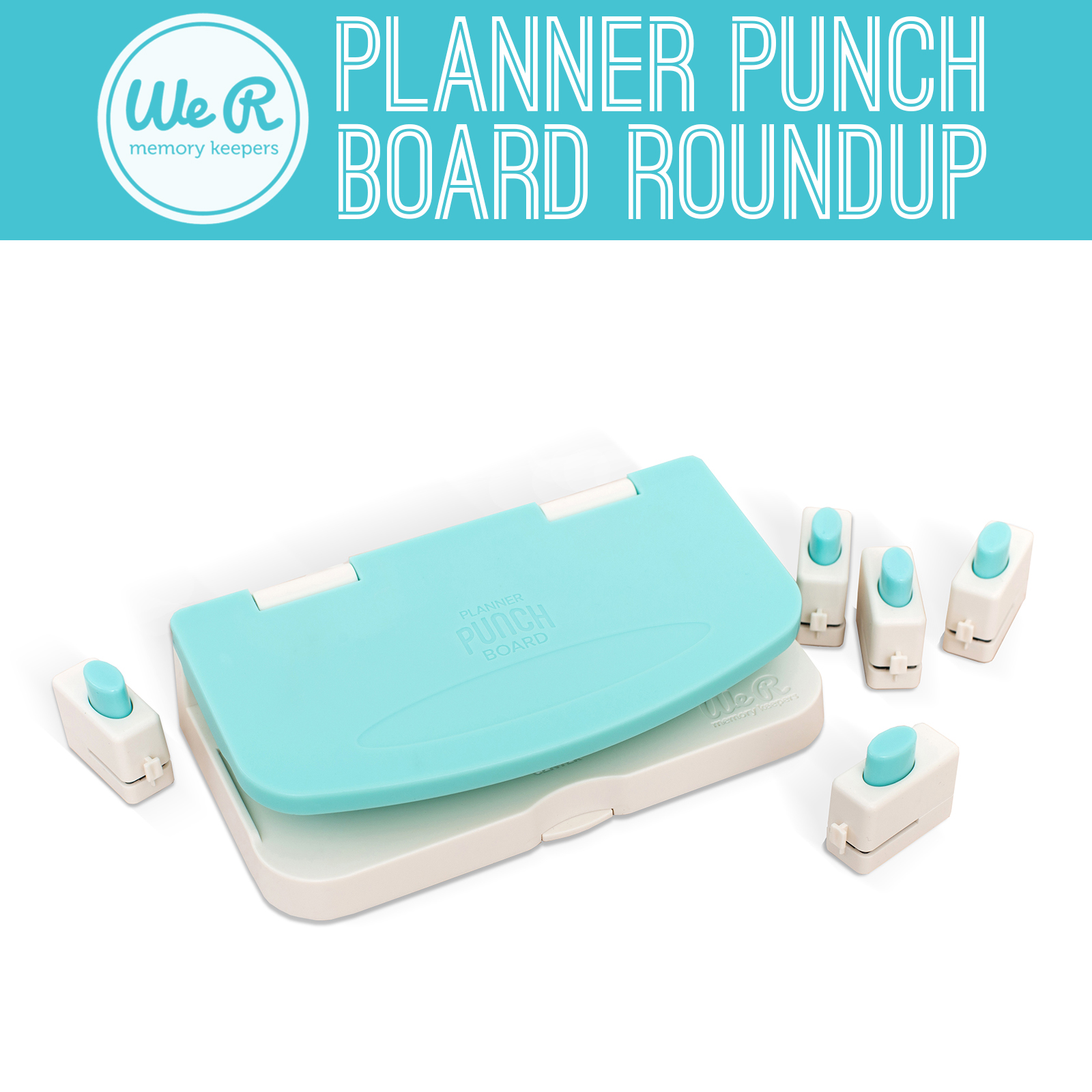 We R Memory Keepers Planner Punch Board Roundup