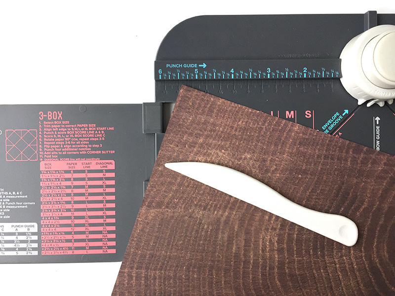 123 Punch Board by We R Memory Keepers