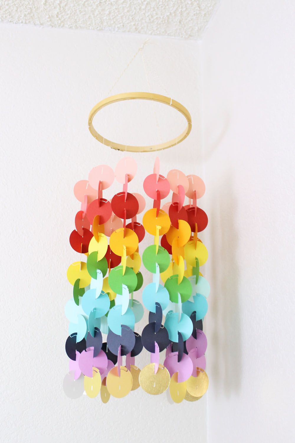 Circle Garland Mobile by Laura Silva for We R Memory Keepers