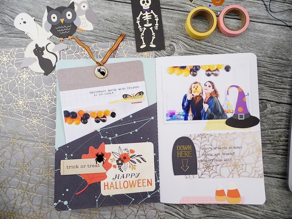 Halloween Photo Journal with the Typecast Typewriter by Soraya Maes for We R Memory Keepers