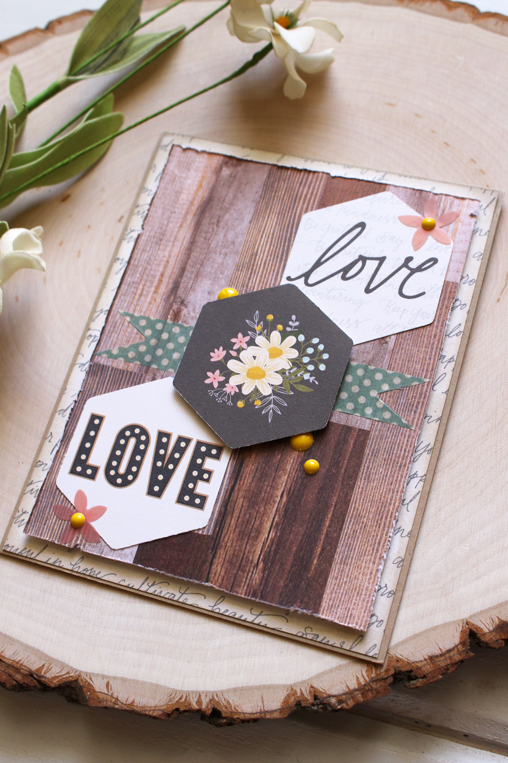 Clear Cut Punch Card by Kimberly Crawford for We R Memory Keepers