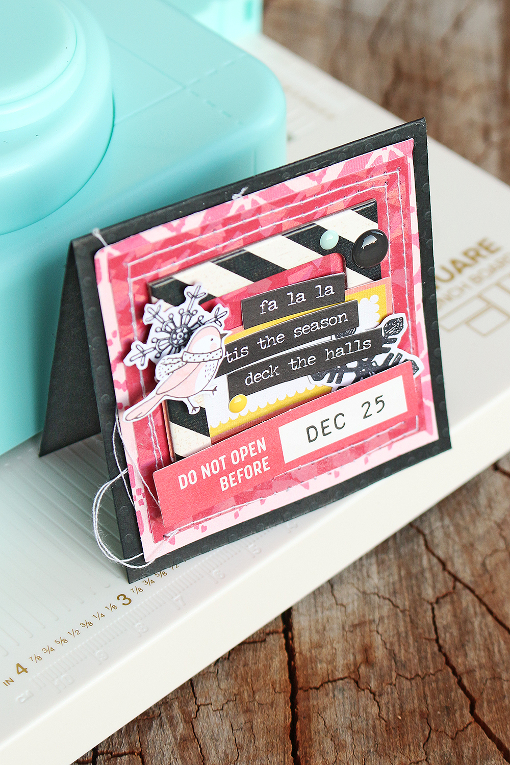 Holiday Cards by Chantalle McDaniel for We R Memory Keepers