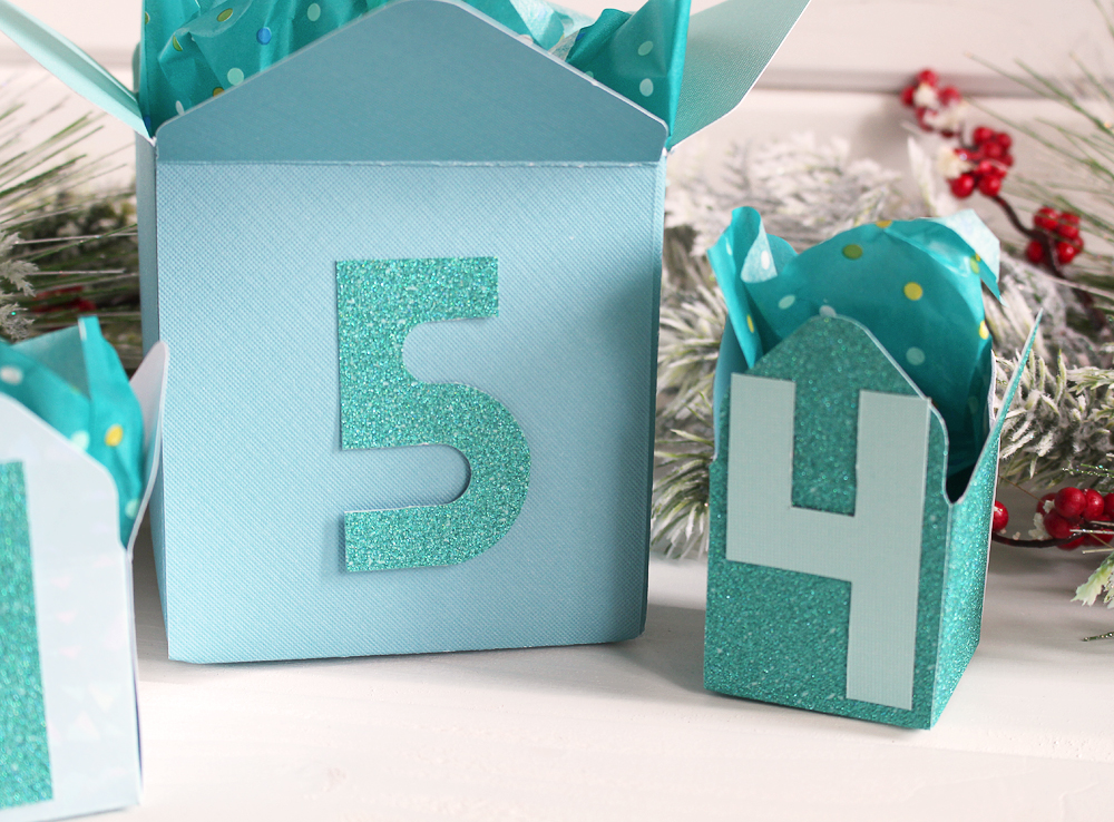 Holiday Advent Calendar by Kimberly Crawford for We R Memory Keepers