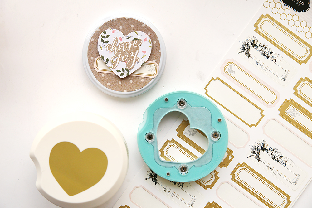 Clear Cut Heart Punch by We R Memory Keepers