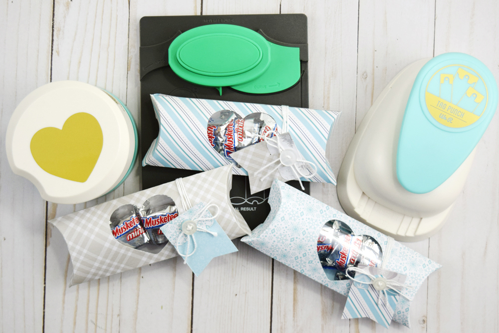 Holiday Pillow Boxes by Becki Adams for We R Memory Keepers