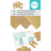 660891_We_R_Memory_Keepers_Alphabet_Punch_Board_3x5_Pad_Kraft_and_Gold