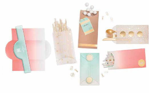 We R Memory Keepers Goodie Bag Scallop Guide DIY Party