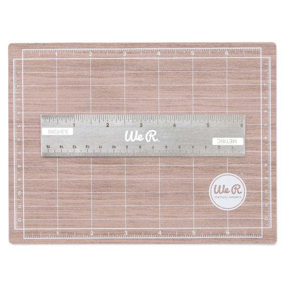 7 X 5 Mini Magnetic Cutting Mat With 6 In Ruler We R
