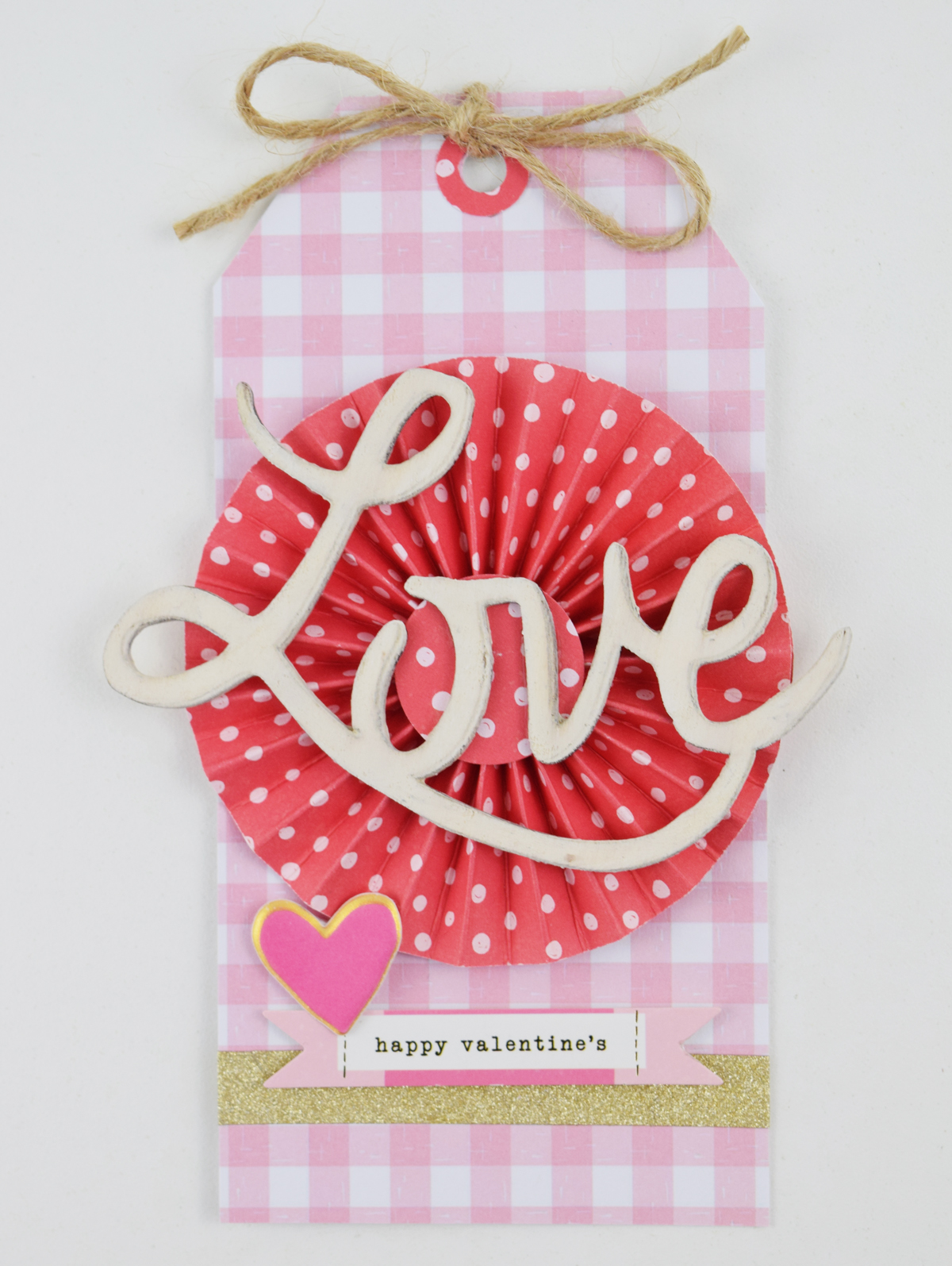 Valentine's Day Gift Tags by Becki Adams for We R Memory Keepers