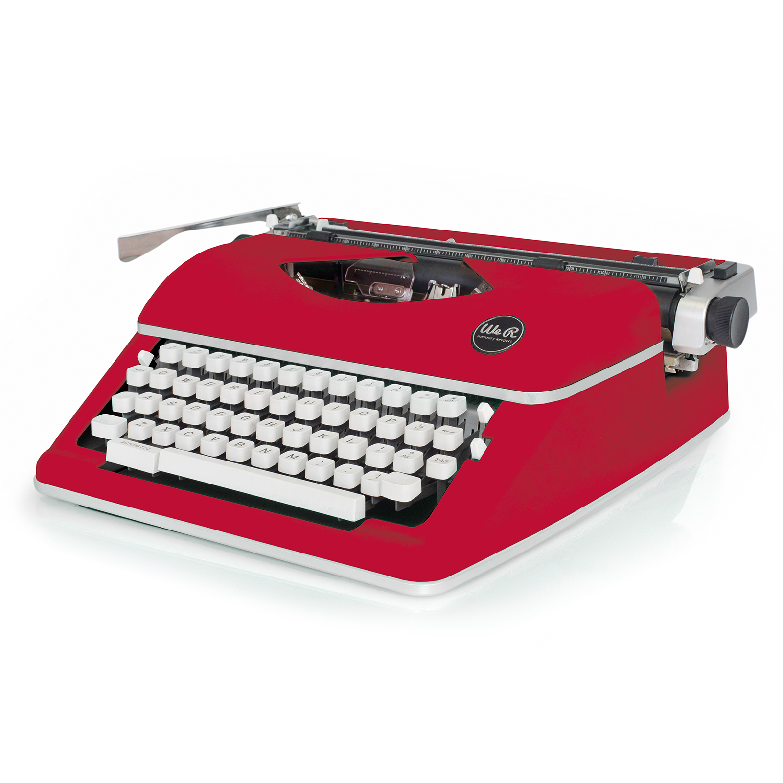 Red Typecast Typewriter by We R Memory Keepers