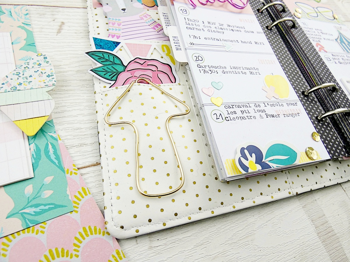 Happy Jig Planner Spread by Soraya Maes for We R Memory Keepers