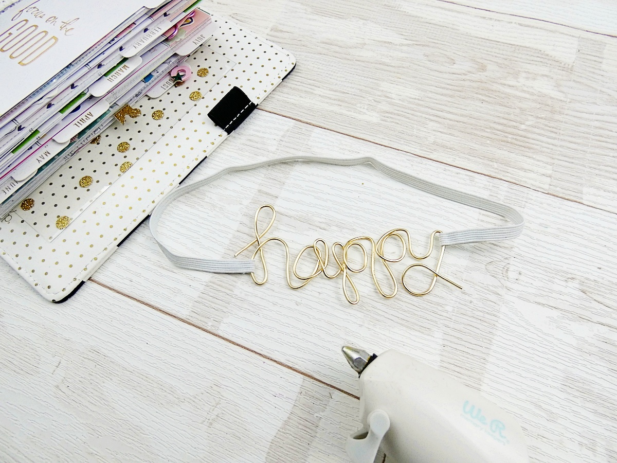 DIY Planner Band by Soraya Maes for We R Memory Keepers featuring the Happy Jig