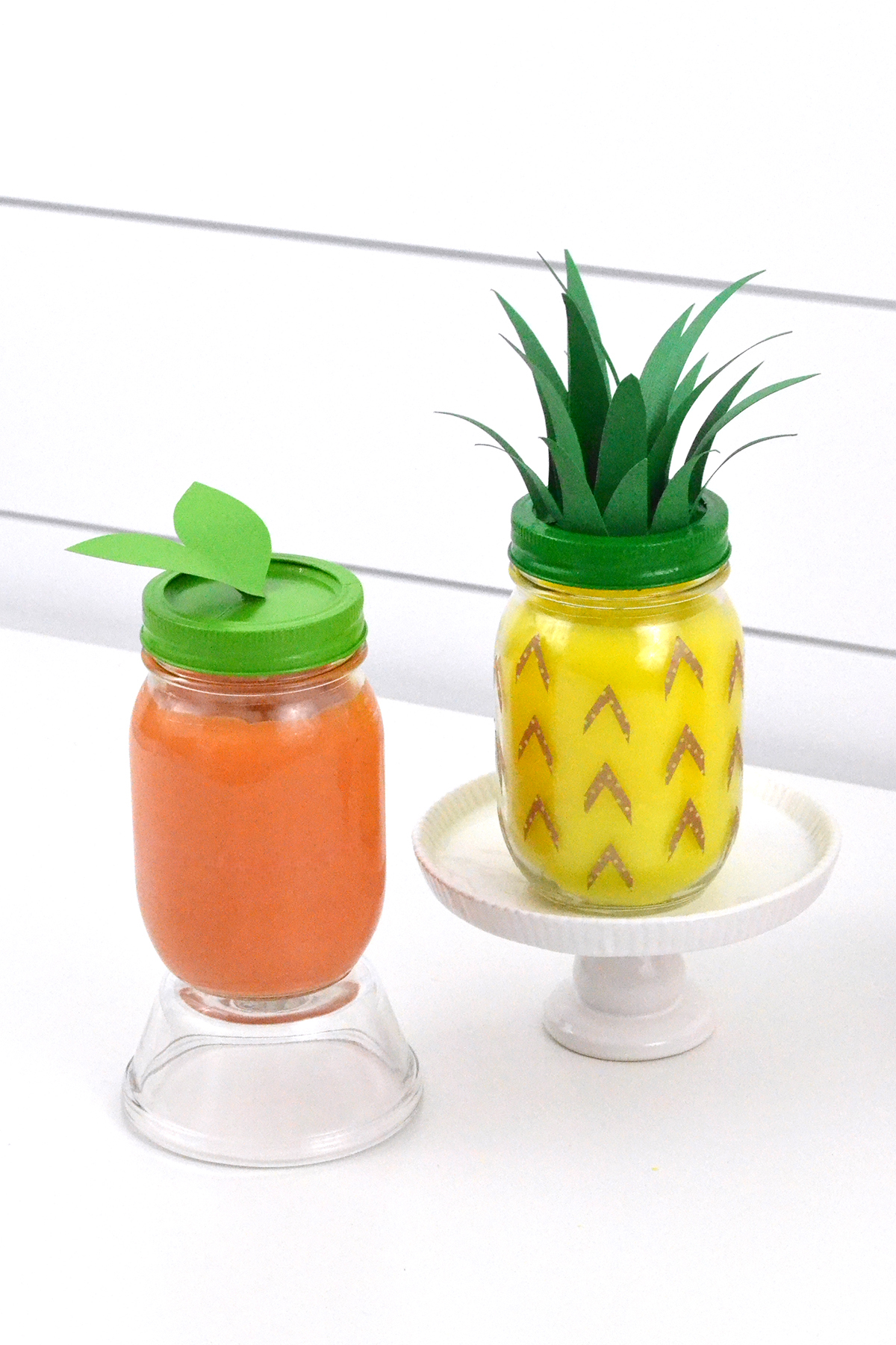 Tropical Fruit Scented Candles by Aly Dosdall for We R Memory Keepers