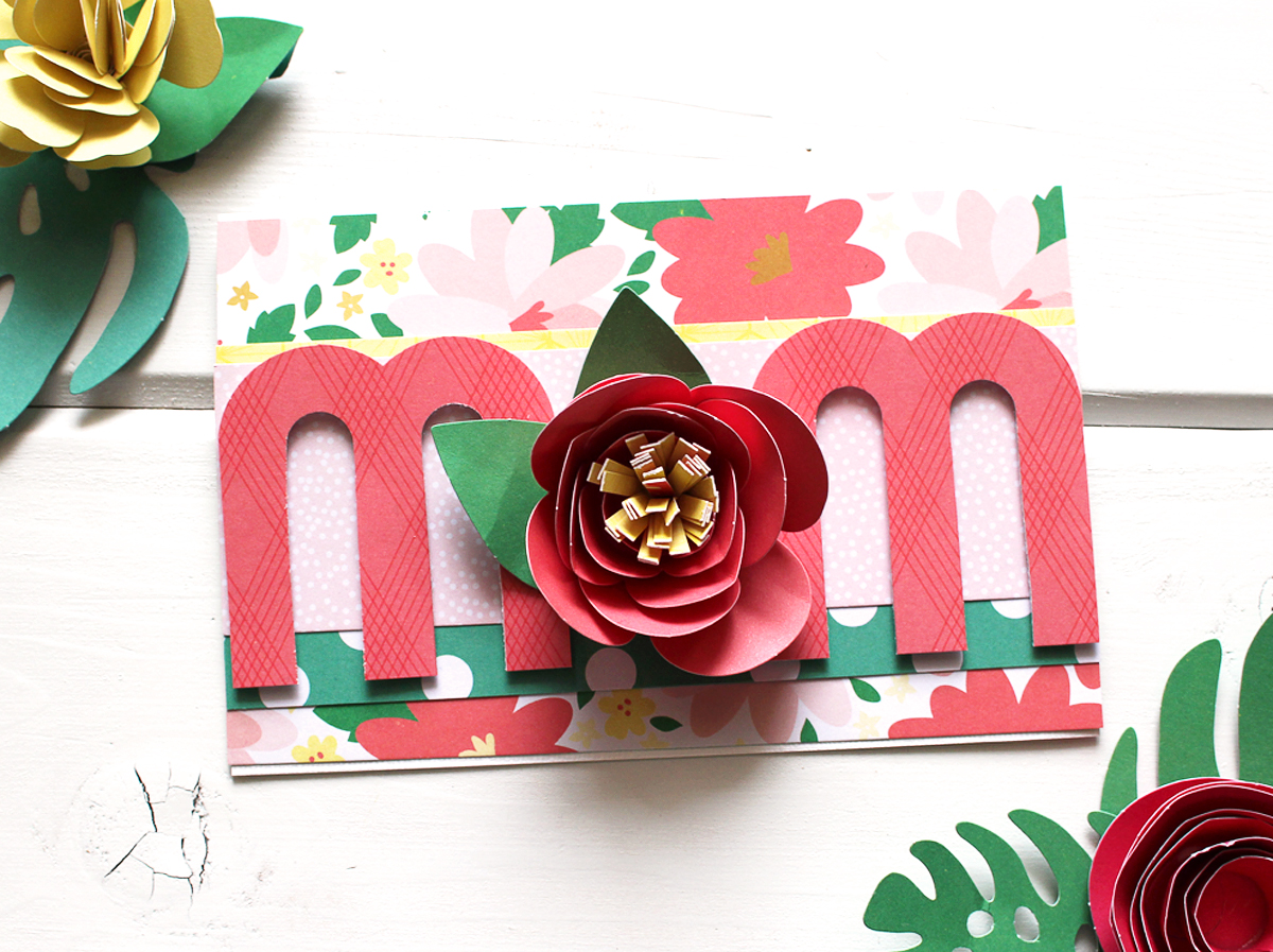 Mother's Day Card by Kimberly Crawford for We R Memory Keepers