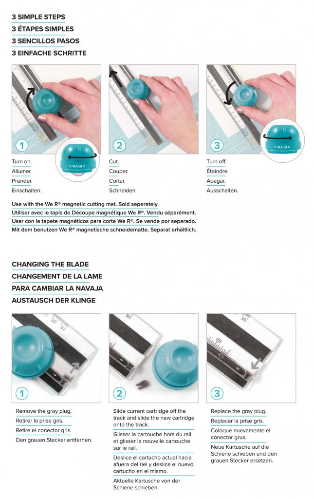Magnetic Twist Trimmer We R Memory Keepers