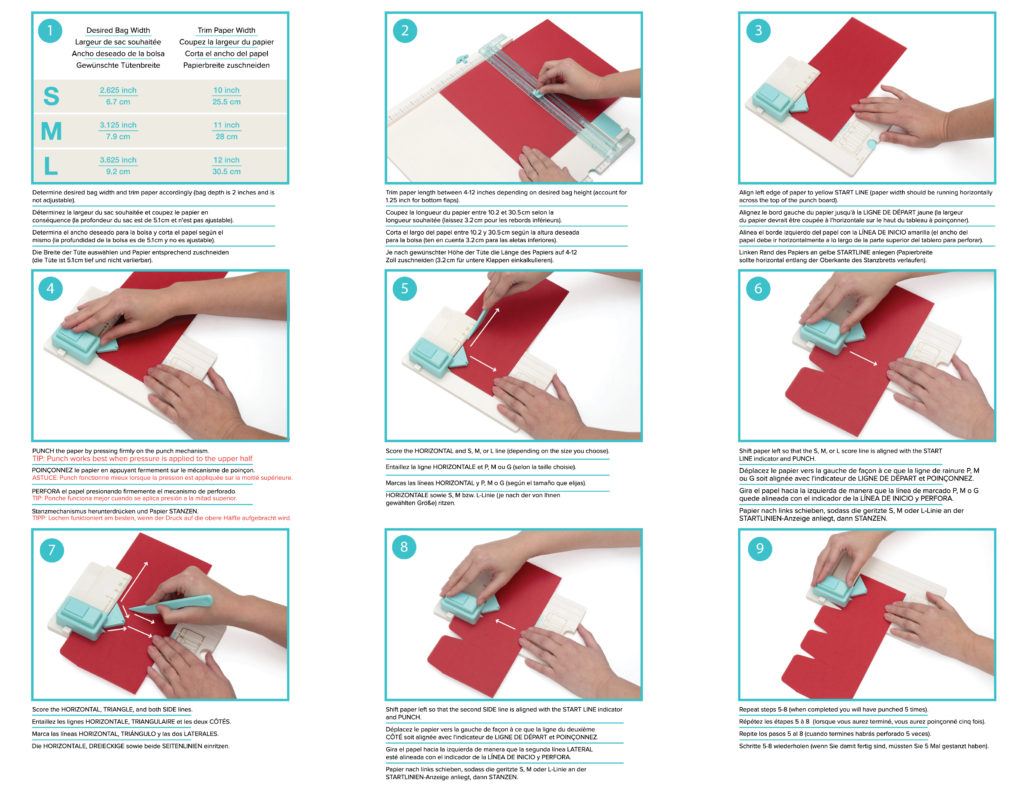 713333 Gift Bag Punch Board P1