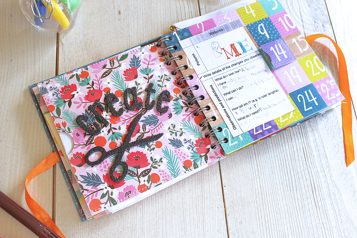 Graduation Party Guest Book by Chantalle McDaniel for We R Memory Keepers