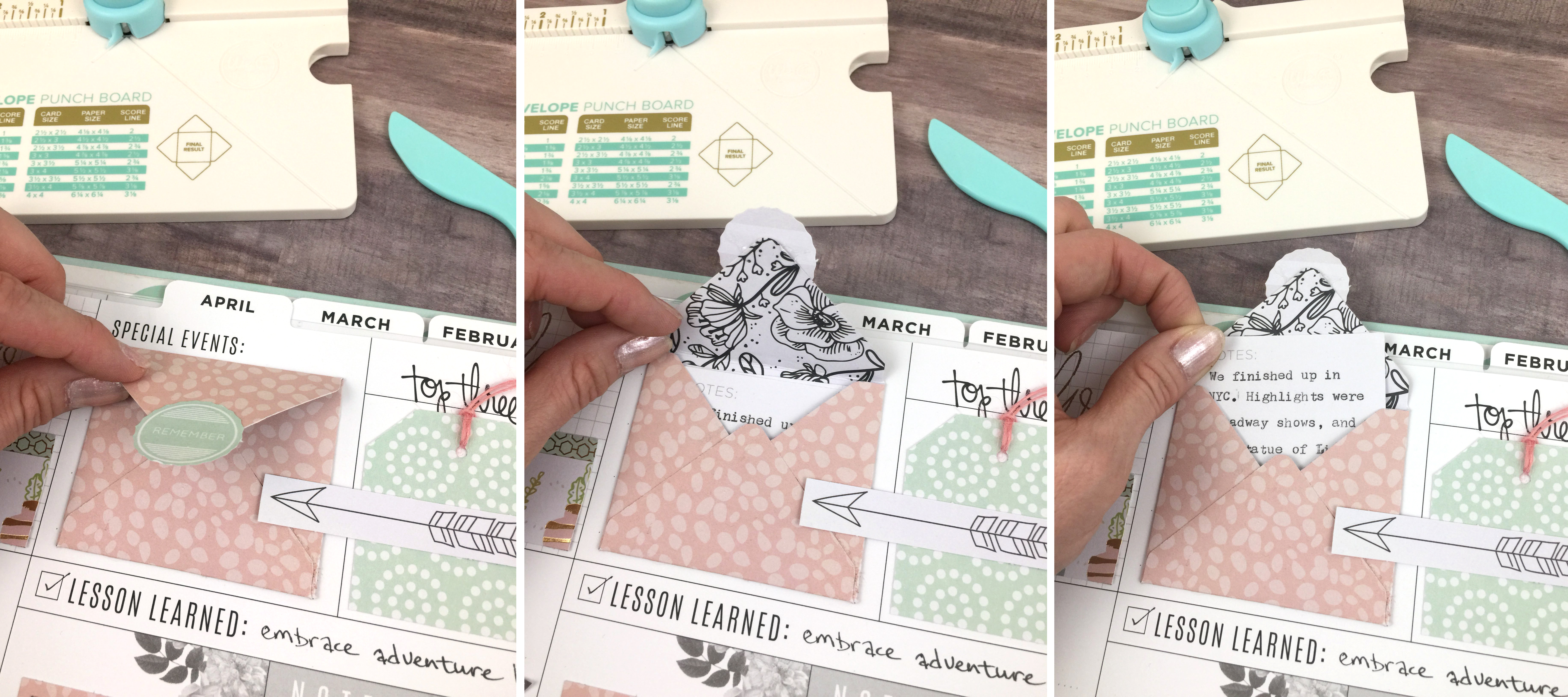 Mini Envelope Punch Board by We R Memory Keepers