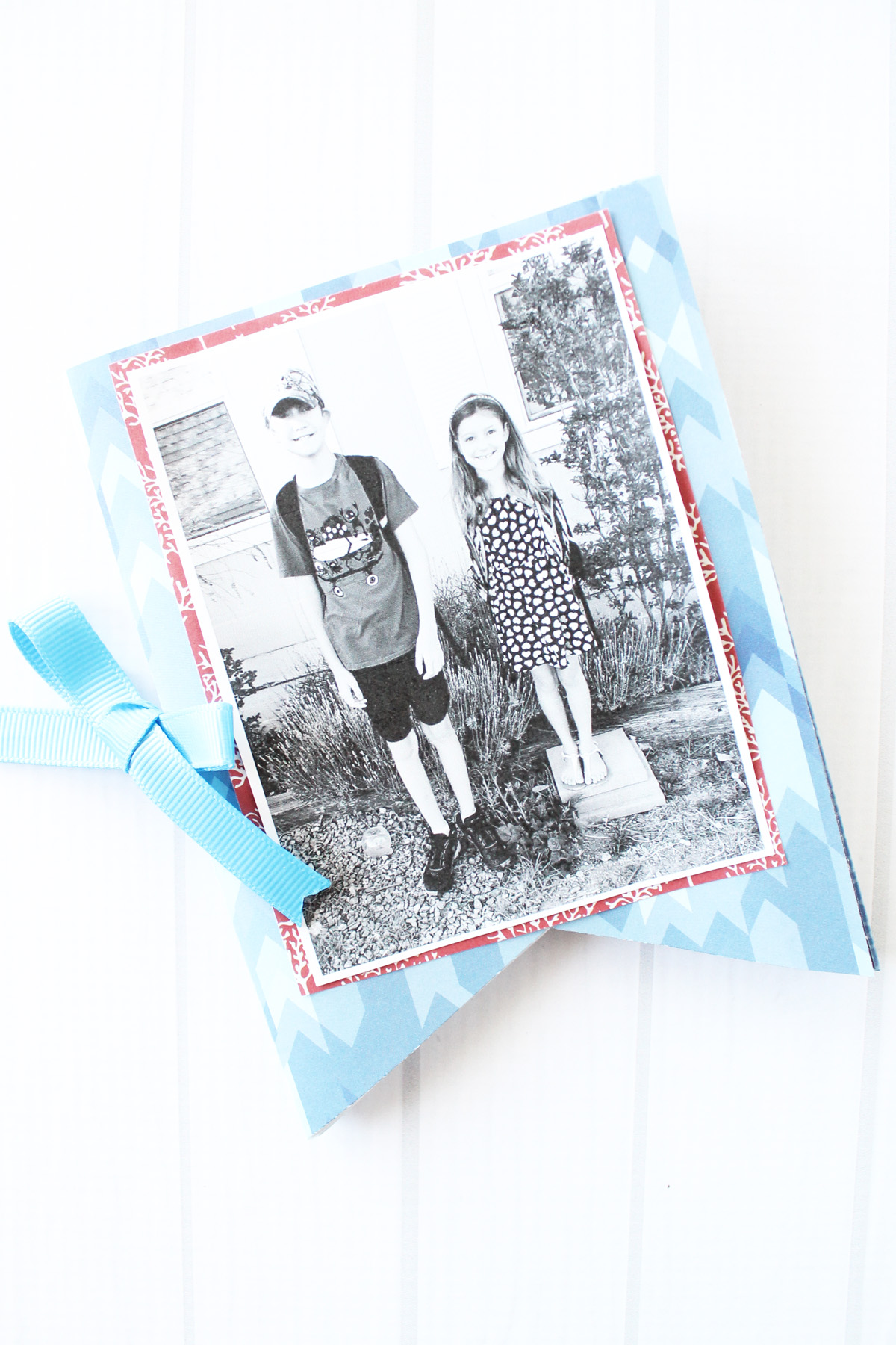 Father's Day Mini Book by Laura Silva for We R Memory Keepers