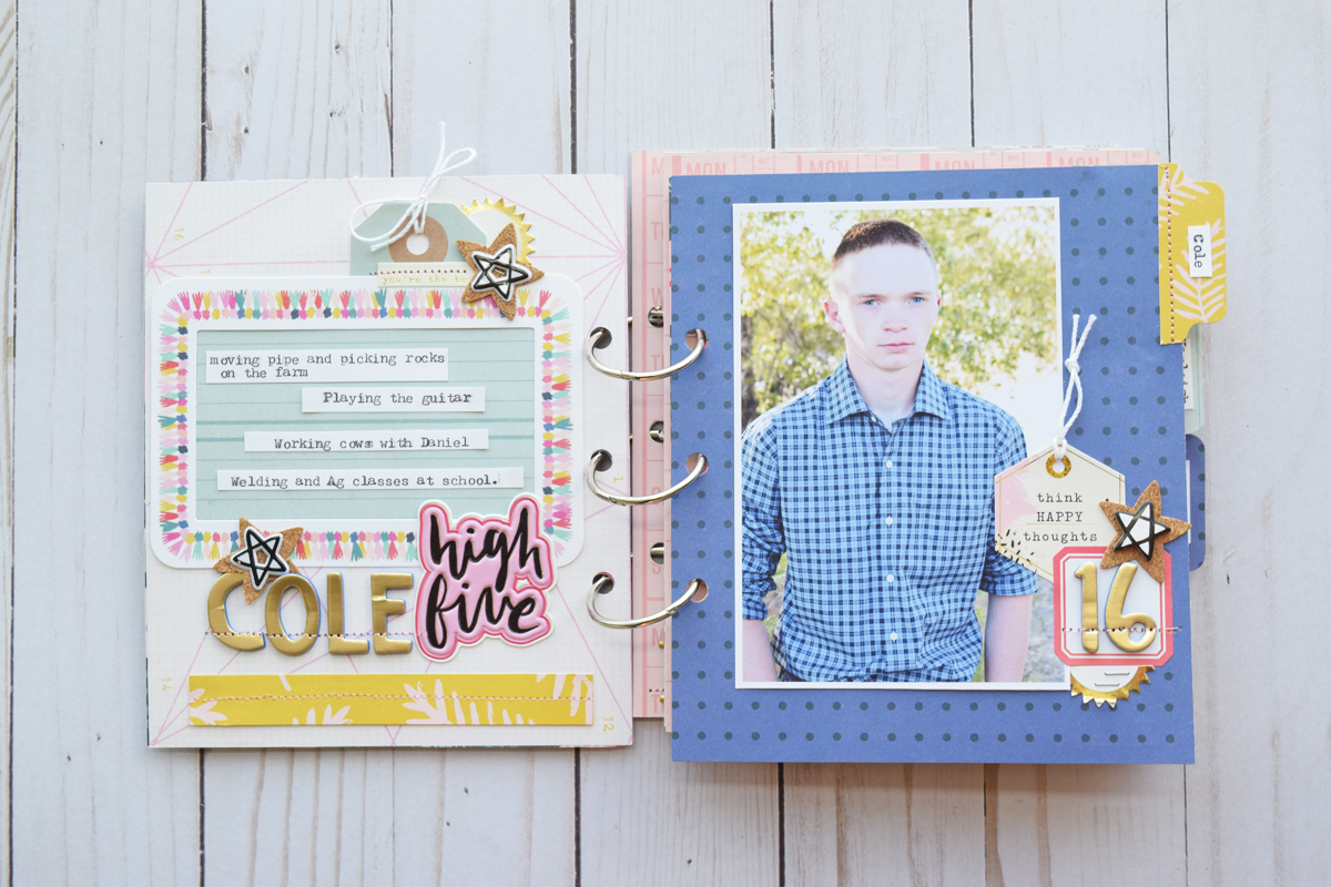 Mini Album by Becki Adams for We R Memory Keepers