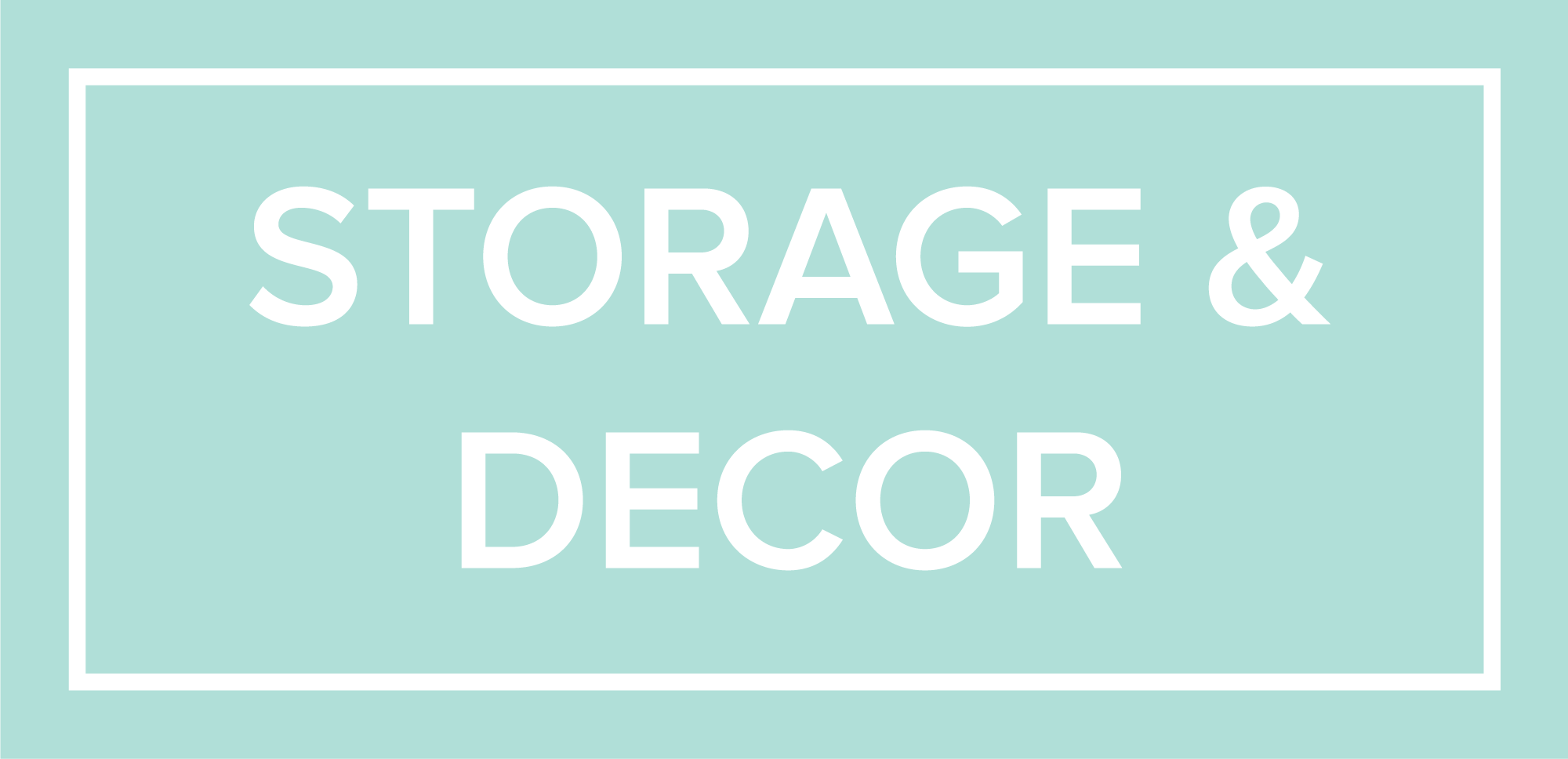 Storage & Decor 2