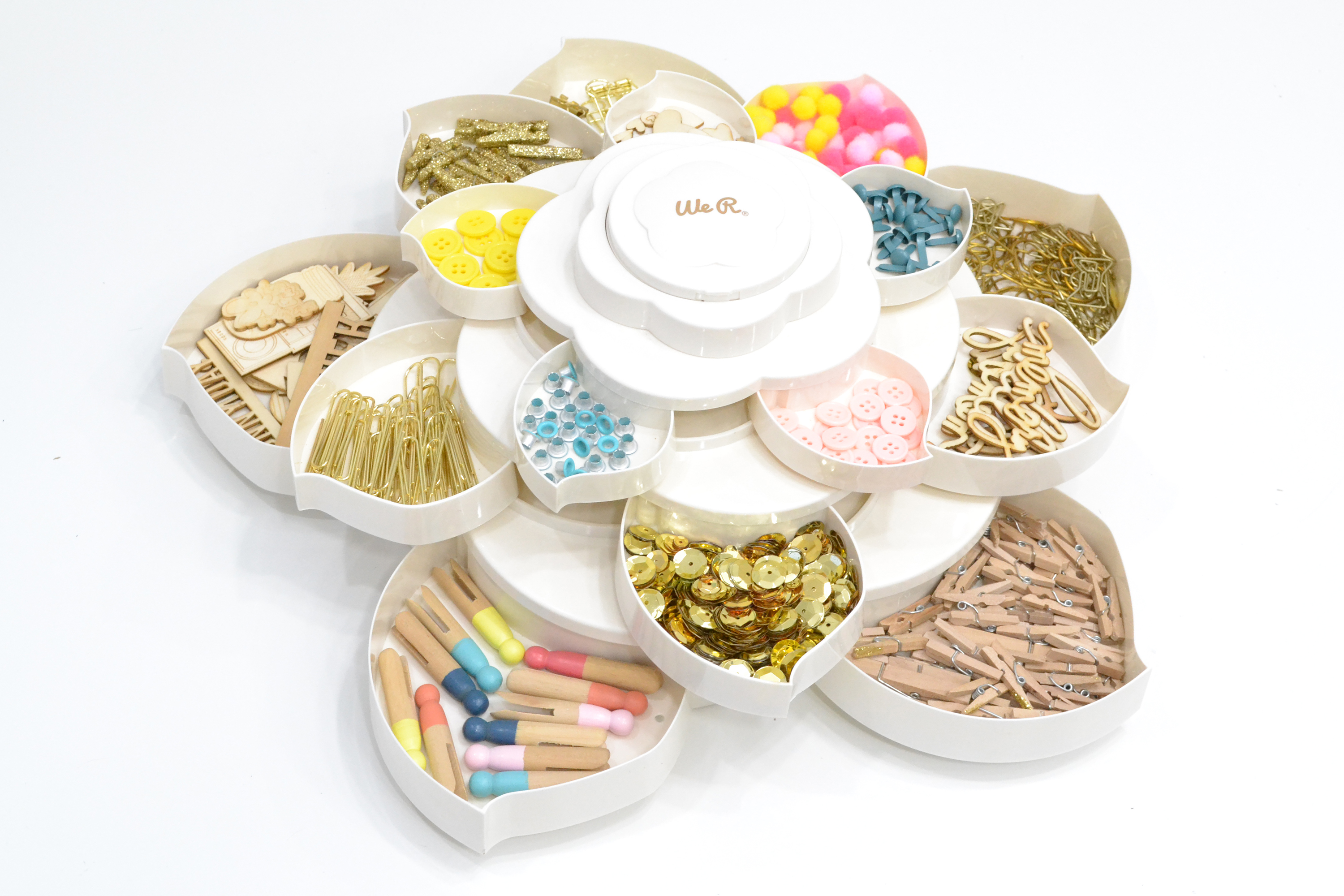 Bloom Storage by We R Memory Keepers featured in Aly Dosdall's craft room