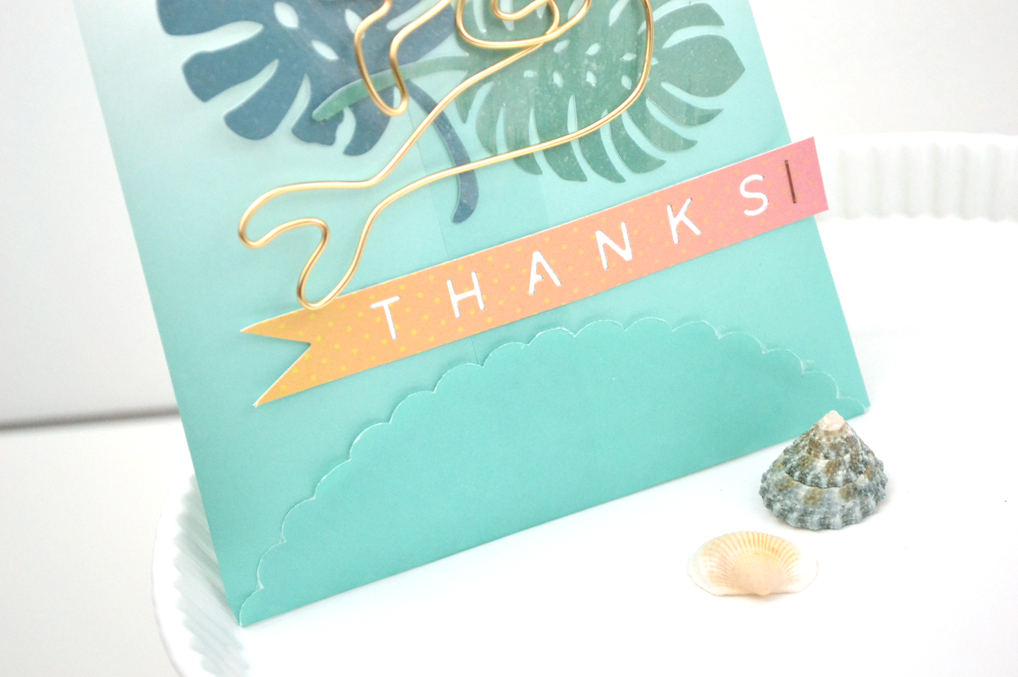 DIY Mermaid Party Decor by Aly Dosdall for We R Memory Keepers