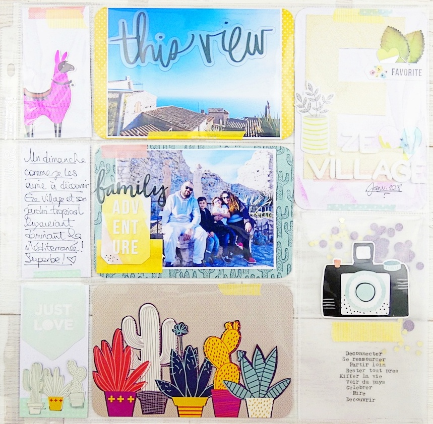 Travel Pocket Page by Soraya Maes for We R Memory Keepers
