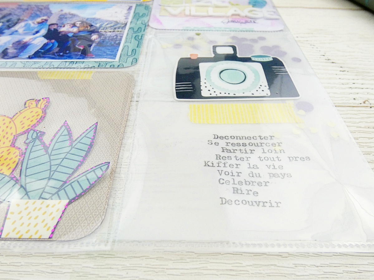 Travel Pocket Page by Soraya Maes by We R Memory Keepers