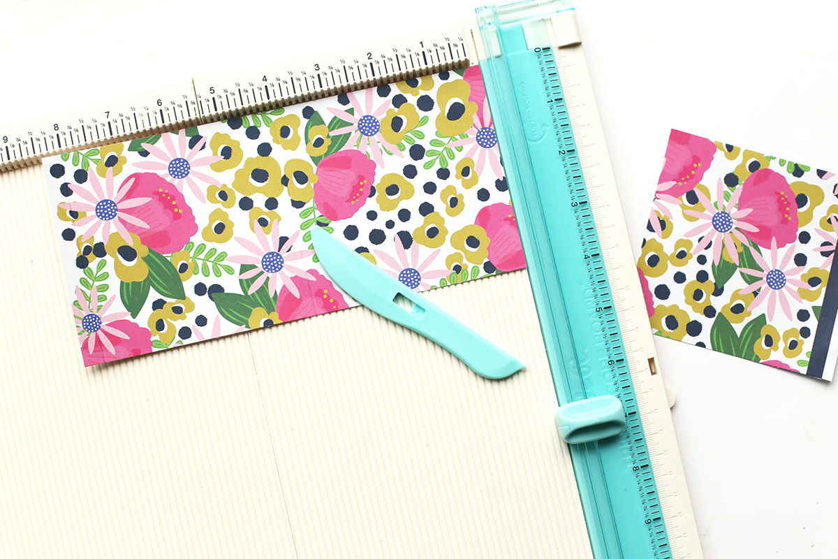 DIY Mini Album featuring the Trim and Score Board by We R Memory Keepers