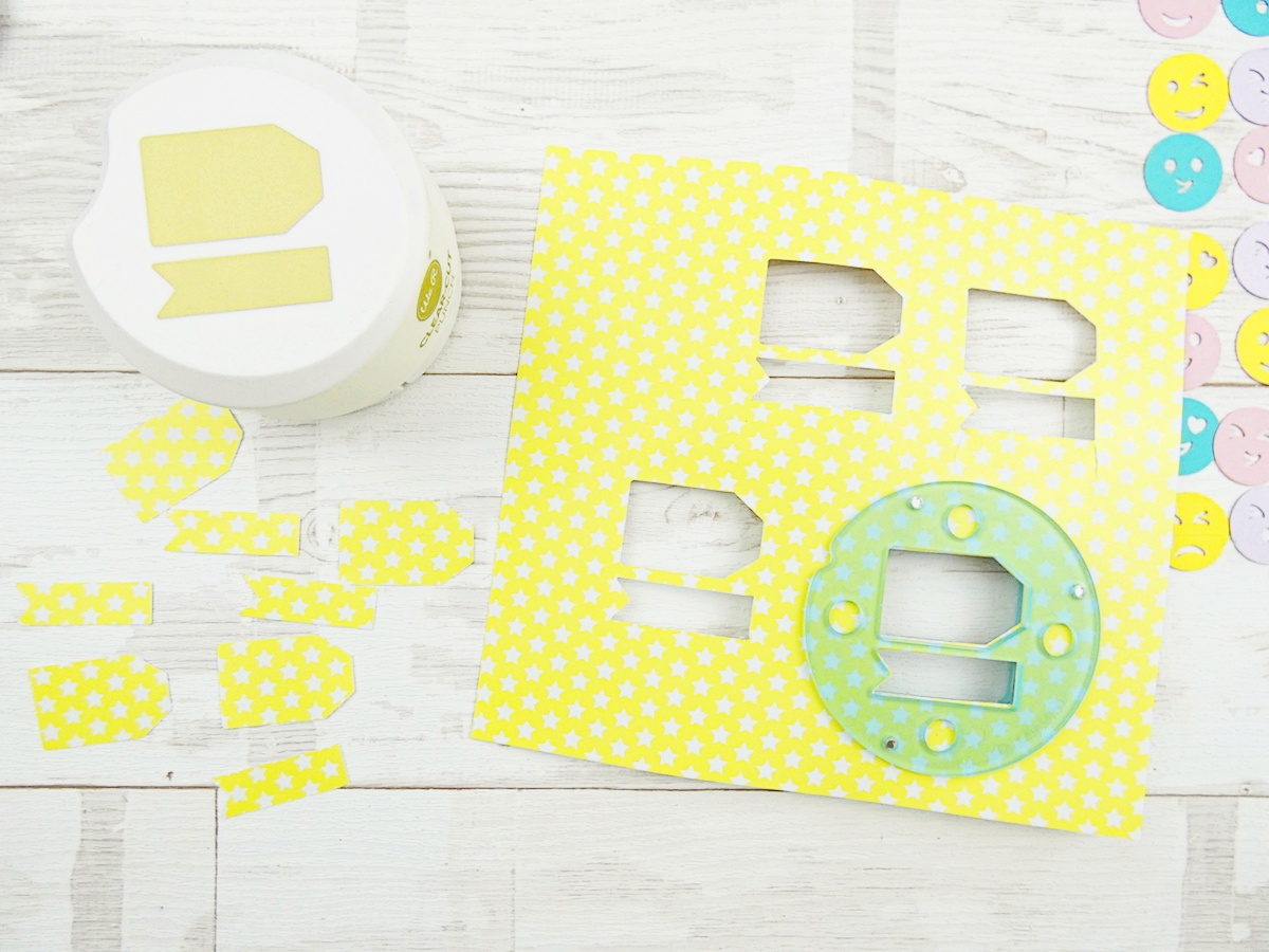 Clear Cut Tag Punch by We R Memory Keepers