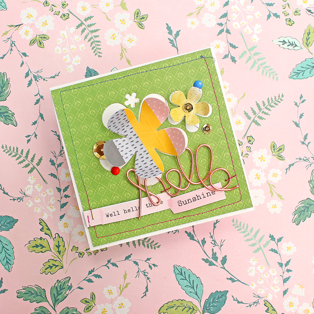 Handmade Card by Chantalle McDaniels featuring the Happy Jig by We R Memory Keepers