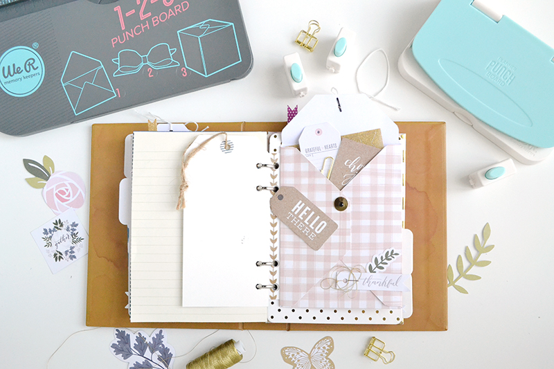DIY Coin Envelope Planner Insert by Aly Dosdall for We R Memory Keepers